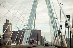 Due Fotografi   Twee Fotografen   Wedding   Weddingcar   Rotterdam   Erasmusbrug  www.duefotografi.nl