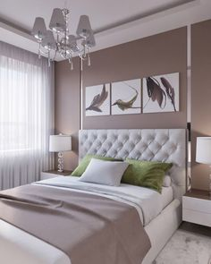 48 Unique and Simple Ceiling Design - Decor Pins Master Bedroom Design, Home Decor Bedroom, Modern Bedroom, Bedroom Wall, Bedroom Ideas, Girls Bedroom, Master Bedrooms, Bedroom Designs, Trendy Bedroom