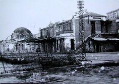 1943 το λιμάνι στην κατοχή. Old Photos, Vintage Photos, Crete Island, Simple Photo, Crete Greece, Old Maps, Istanbul, Taj Mahal, The Past