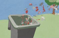 So wird deine Mülltonne nie mehr stinken! Probiere es aus! #Müll #Hygiene #Mülltonne #Biomüll