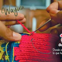 The Wayuu method of tapestry crochet