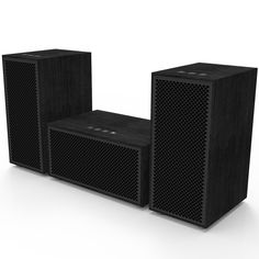 Multi-room Audio System - 3 Speaker Package, by Multiroom (1 Base speaker + 2 Satellite speakers) Wireless whole house audio system. See more>>http://www.av-express.com/Multiroom-Audio-Systems/Multiroom-Audio-System-Wireless-Sound-System