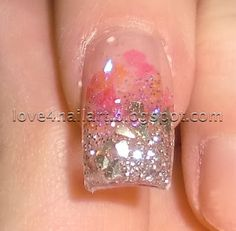 New Years Eve Nail Design ~ Love4NailArt  http://love4nailart.blogspot.com/2012/02/new-years-eve-nail-design.html