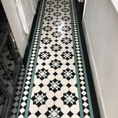 We specialise in Victorian Hallway Tiles and we offer an expert services in sorcing and laying traditional Victorian floor tiles hallway Victorian Hallway Tiles, Edwardian Hallway, Victorian Mosaic Tile, Tiled Hallway, Entryway Tile Floor, Entrance Hall Decor, Entryway Decor, Tiles London, Hall Tiles
