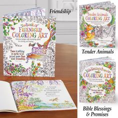 Inspirational Designs Coloring Books