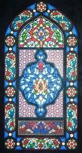 Kanuni Sultan Süleyman Türbesinin vitraylı penceresi.