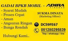 Dapatkan pinjaman dana paling tinggi hanya dengan gadai bpkb mobil, proses cepat pencairan dana hanya beberapa jam saja dengan suku bunga terendah dan pembiayaan mobil bekas dp murah serta cicilan ringan untuk seluruh wilayah indonesia.