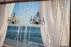 Bling at the beach // Rosemary Beach Wedding | It's a Shore Thing Wedding Planning | Nouveau Flowers | Meg Baisden Photography
