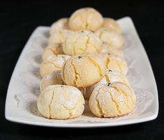 Amaretti Cookies – Sweet – Soft and Chewy