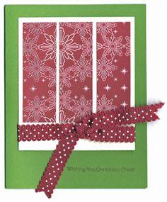 One Sheet Wonder - Christmas  - Card 7 by KalaKitty