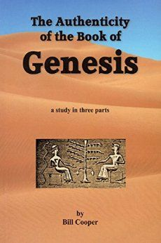 Suggested book of the day - The Authenticity of the Book of Genesis