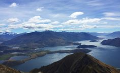 View from the top of Roy's Peak Wanaka NZ [2034  1254] [OC]   landscape Nature Photos