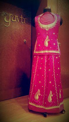 Celebrate this Wedding season with #love #beuty #poshak #YUVTI..