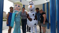 Katia e i nostri animatori in buona compagnia!