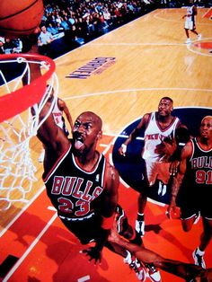 6c653a286 Michael Jordan Dunk Tongue Chicago Bulls NBA Basketball Gigantic Print  POSTER  MichaelJordan  Posters