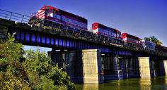 Wisconsin & Southern crossing the Rock River | Flickr - Photo Sharing!