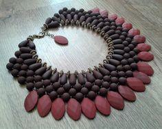 maxi colares com pedras entrelaçadas - Pesquisa Google