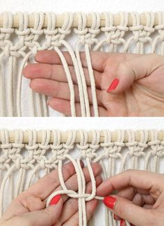 Macrame DIY: Dip Dyed Wall Hanging - Consumer Crafts