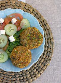 honey & figs: Chickpea Veggie Burgers / Hamburguesas de Garbanzos y Verduras