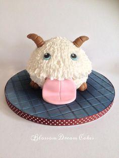 Poro - Cake by Blossom Dream Cakes - Angela Morris