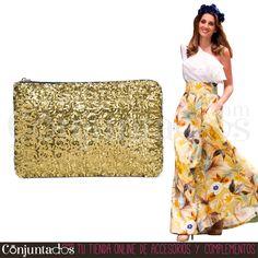 Descubre nuestra maravillosa selección de #bolsos de #fiesta ★ 11,95 € en https://www.conjuntados.com/es/bolsos/bolsos-de-mano/bolso-cartera-de-mano-con-lentejuelas-circulares-en-dorado.html ★ #novedades #bolso #handbag #purse #crossbodybag #conjuntados #conjuntada #accesorios #lowcost #complementos #moda #fashion #fashionadicct #picoftheday #outfit #estilo #style #GustosParaTodas #ParaTodosLosGustos