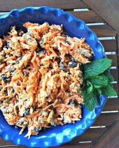 4 Ingredient Carrot Raisin Salad // A Cedar Spoon