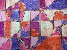 we heart art: Paul Klee inspired crayon resist!