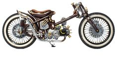 The Jabrix by Timboel Garage, Bali. 2nd place of The Deus Boundless Enthusiasm Bike Build Off 2013