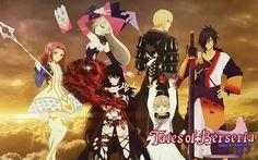 Tales of Berseria『テイルズ オブ ベルセリア』 Characters: Velvet Crowe,Laphicet,Rokurou Rangetsu,Eleanor Hume,Eizen,Magilou.