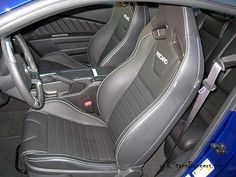 2014 Ford Mustang GT interior with Recaro seats 2014 Ford Mustang, Ford Mustangs, Car Seats, Cars, Interior, Indoor, Ford Mustang, Autos, Car Seat