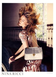 Nina Ricci, Spring/Summer 2012 #campaign | Raquel Zimmermann by Inez and Vinoodh