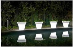 Glow In The Dark Paint For Plant Pots Create A Light Show