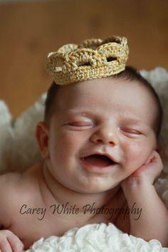 Huggalugs Sparkling Newborn Girls Tiara Crown Photoprop