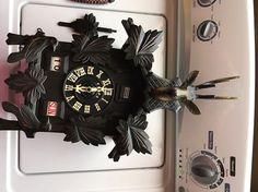 Vintage German made cuckoo clock  Hunter style Parts Clock