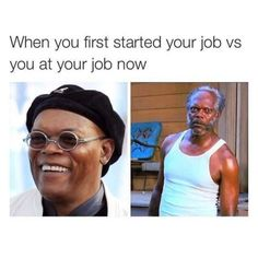 Samuel L. Jackson then and now