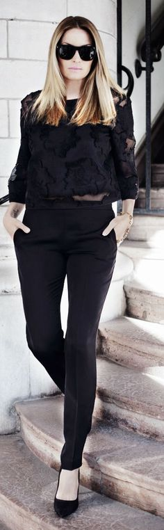 Black Glam Outfit