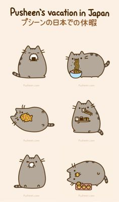 Japanese food  #pusheen