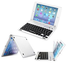 TeckNet® X361 Ultra-Thin Apple iPad Mini Bluetooth Keyboard (US Keyboard Layout) Case Cover with Built-in Stand Groove for Apple iPad mini / iPad mini with Retina Display - Silver Tecknet http://www.amazon.com/dp/B002UJ0SU6/ref=cm_sw_r_pi_dp_it1Jub01YZJZZ