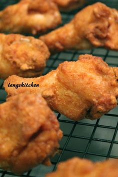 Kitchen Chaos: Crispy Curry Fried Chicken Wings ???????? Mom's Recipe #3