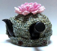 Ravelry: Lotus Kyusu Cozy pattern by Králík