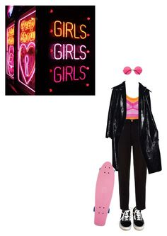 """""""(somebody else)"""" by whataresporks ❤ liked on Polyvore featuring Topshop, Vans and Chanel"""
