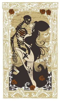 """Elvira"" poster, by Gris Grimly! http://www.thereferencecouncil.com/2012/08/elvira-poster-by-gris-grimly/"