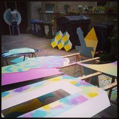 #klub7 #diskorobot #ottobaum #kidcash #2d3d #abstractshapes