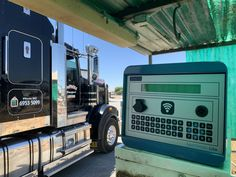 PHOTO OF THE WEEK: Great shot of a Sapphire Lite Fuel Management System for De Paoli Transport, a family owned transport business in Leeton Australia. This unit was to replace the extremely old system. With fuel being a primary asset for many businesses it is important to track usage per vehicle, the Sapphire allows you to do this effortlessly and also compiles it into handy reports for GST claims too. Find out more about the Sapphire Lite via the link. Connect Online, Entry Level, Photos Of The Week, Great Shots, Public Transport, Transportation, Vehicle, Sapphire, Track