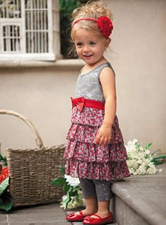 adorable. great idea for all of the tanks I was going to pack away for fall.  the girls love their dresses!