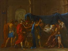 Nicolas Poussin, The Death of Germanicus, Oil on canvas, Minneapolis… Caravaggio, Roman History, Art History, Rembrandt, Minneapolis, Poussin Nicolas, Google Art Project, Baroque Art, Oil Painting Reproductions