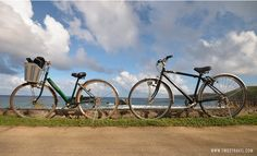 How To Tour Batan Island, The Main Island Of Batanes, By Bike - looloo insights Visit Philippines, Batanes, Maine, Beautiful Places, Bicycle, Tours, Island, Travel, Bike