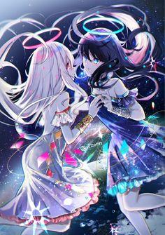 Sie sind an der richtigen Stelle für decoraciones de jardín Hie - Anime Angel, Ange Anime, Anime Kiss, Anime Demon, Manga Kawaii, Kawaii Anime Girl, Anime Girl Cute, Anime Art Girl, Manga Girl