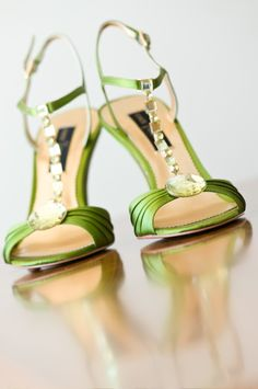 Gorgeous green shoes