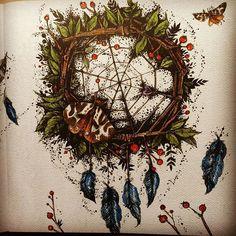 #karolinakubikowska #omalovanky #polycolor #kohinoor #coloringbook #podrugiejstroniesnu